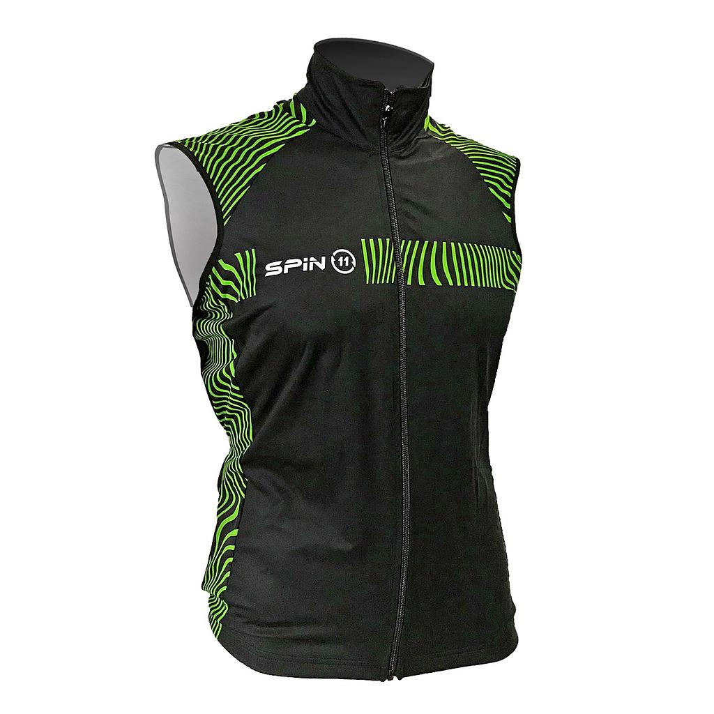 S+ Green&Black Windstopper Membrane Vest